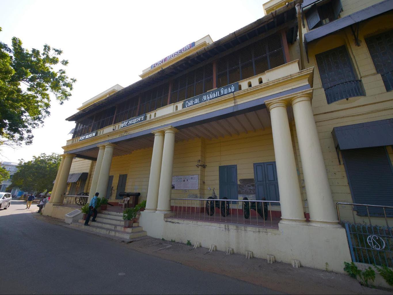 Fort St. George entrance