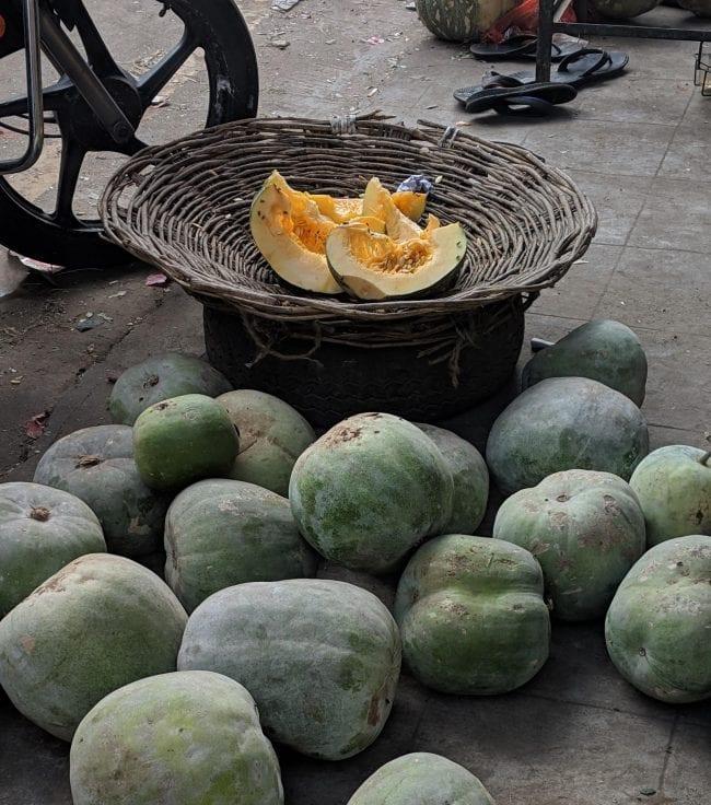 Georgetown market ash gourd