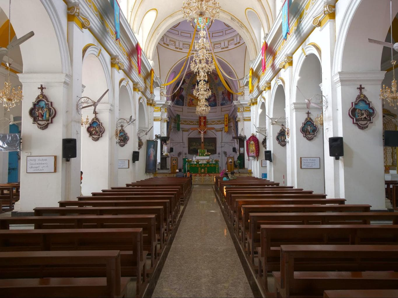 Immaculate Conception Cathedral interior