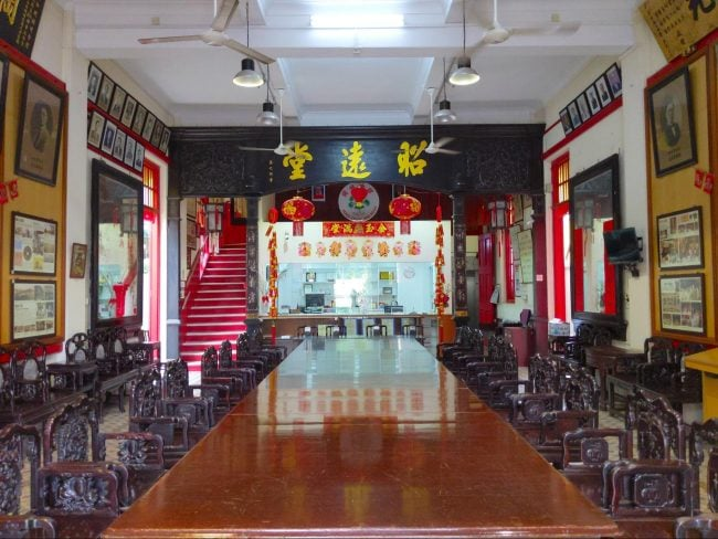 Kong Chow Wui Koon Cultural Centre interior