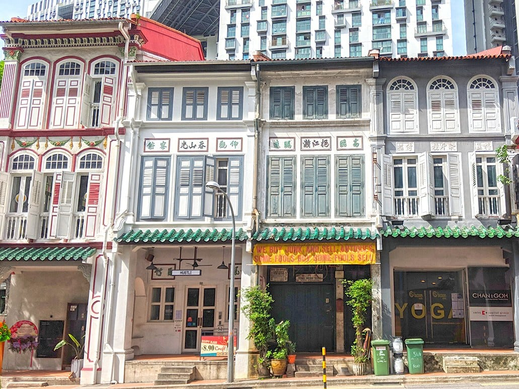 Shophouses in Craig Road