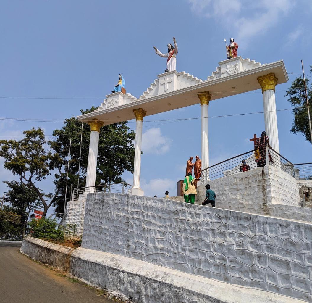 St. Thomas Mount National Shrine exterior
