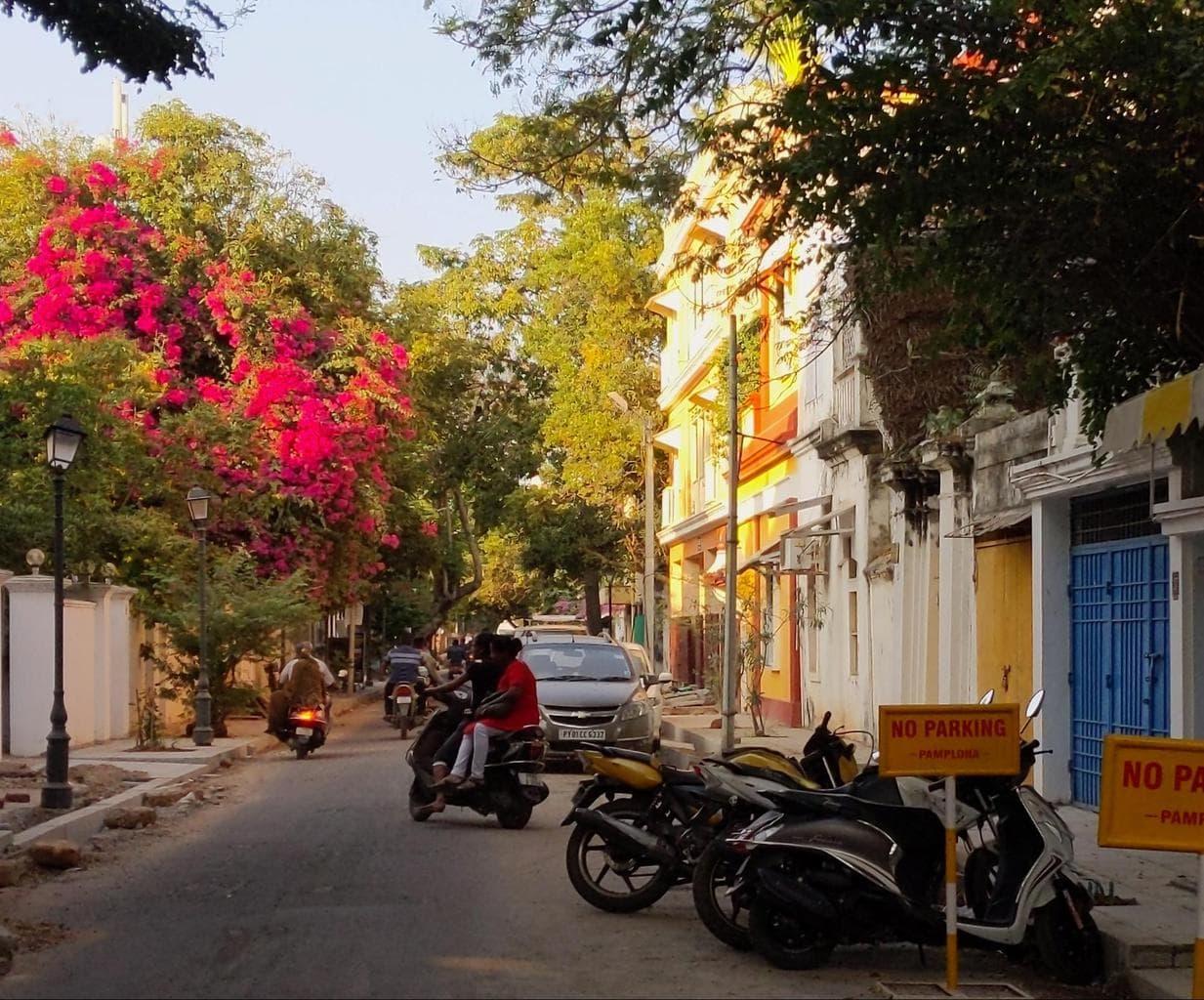Street in Pondicherry