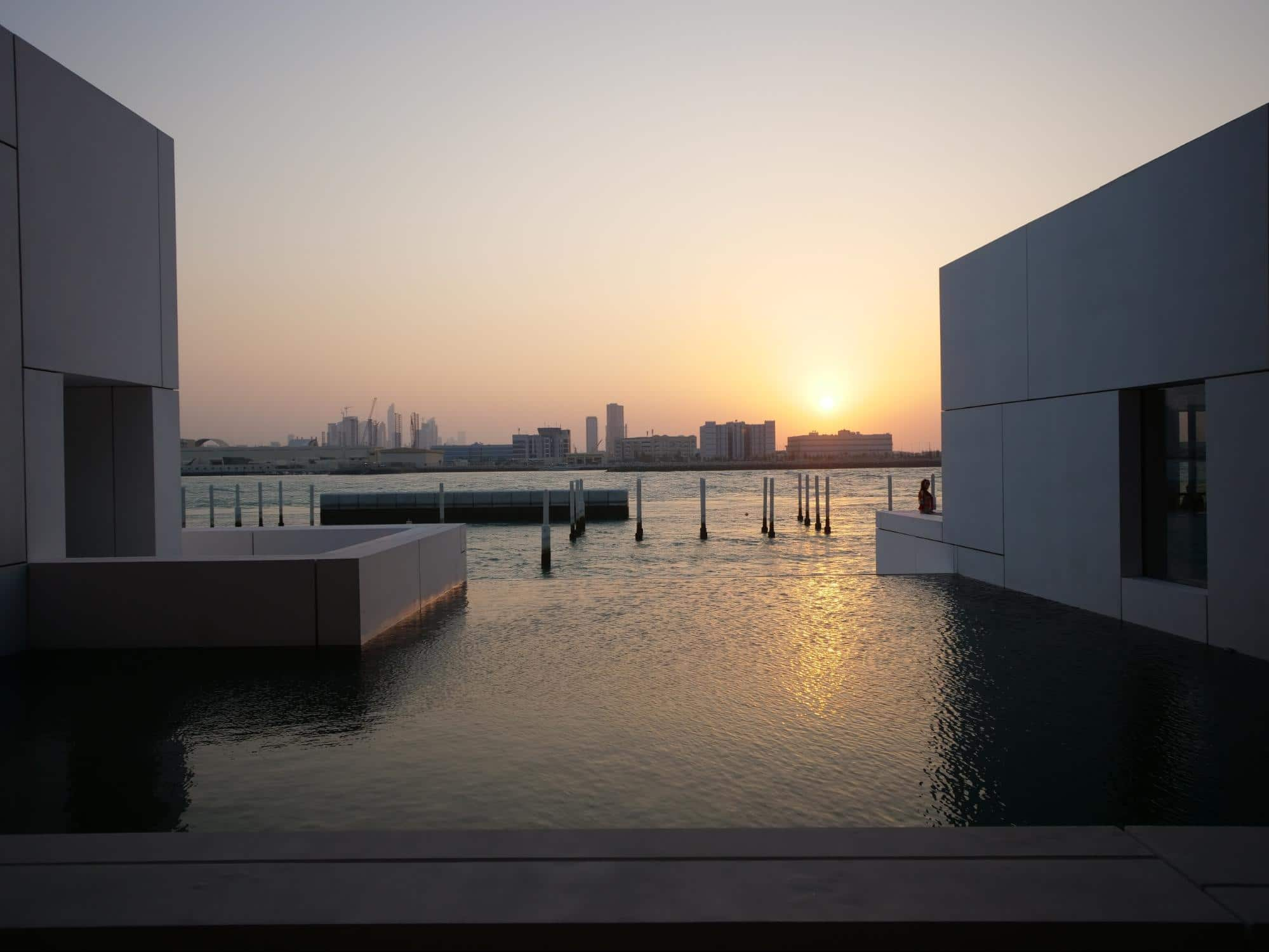 The Louvre Museum Abu Dhabi view