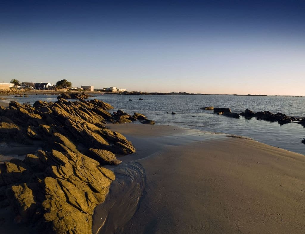 The beach at Port Nolloth