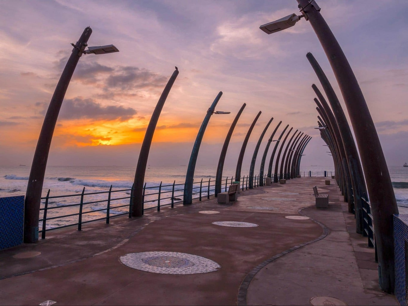 The pier at Umhlanga