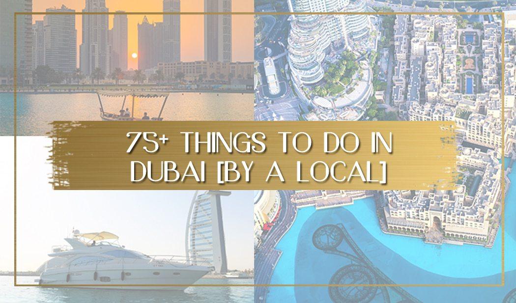 Things to do in Dubai main