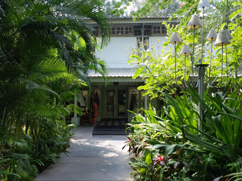 Wild Garden entrance