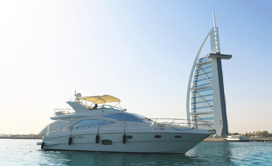 Yachting trip around The Palm