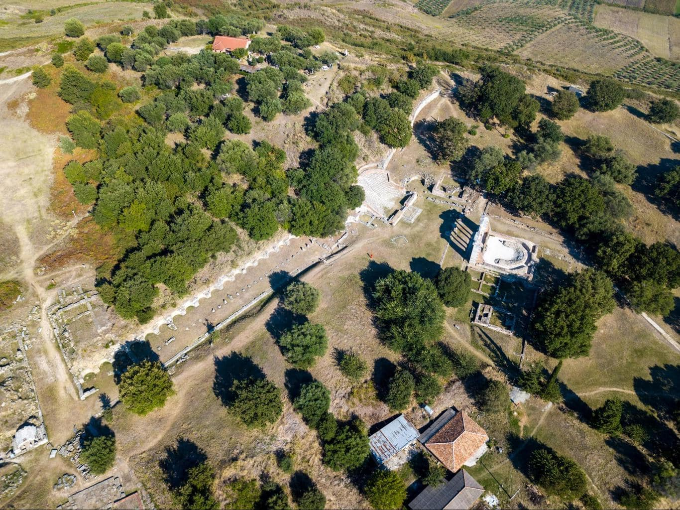Apollonia Archaeological Park drone 1