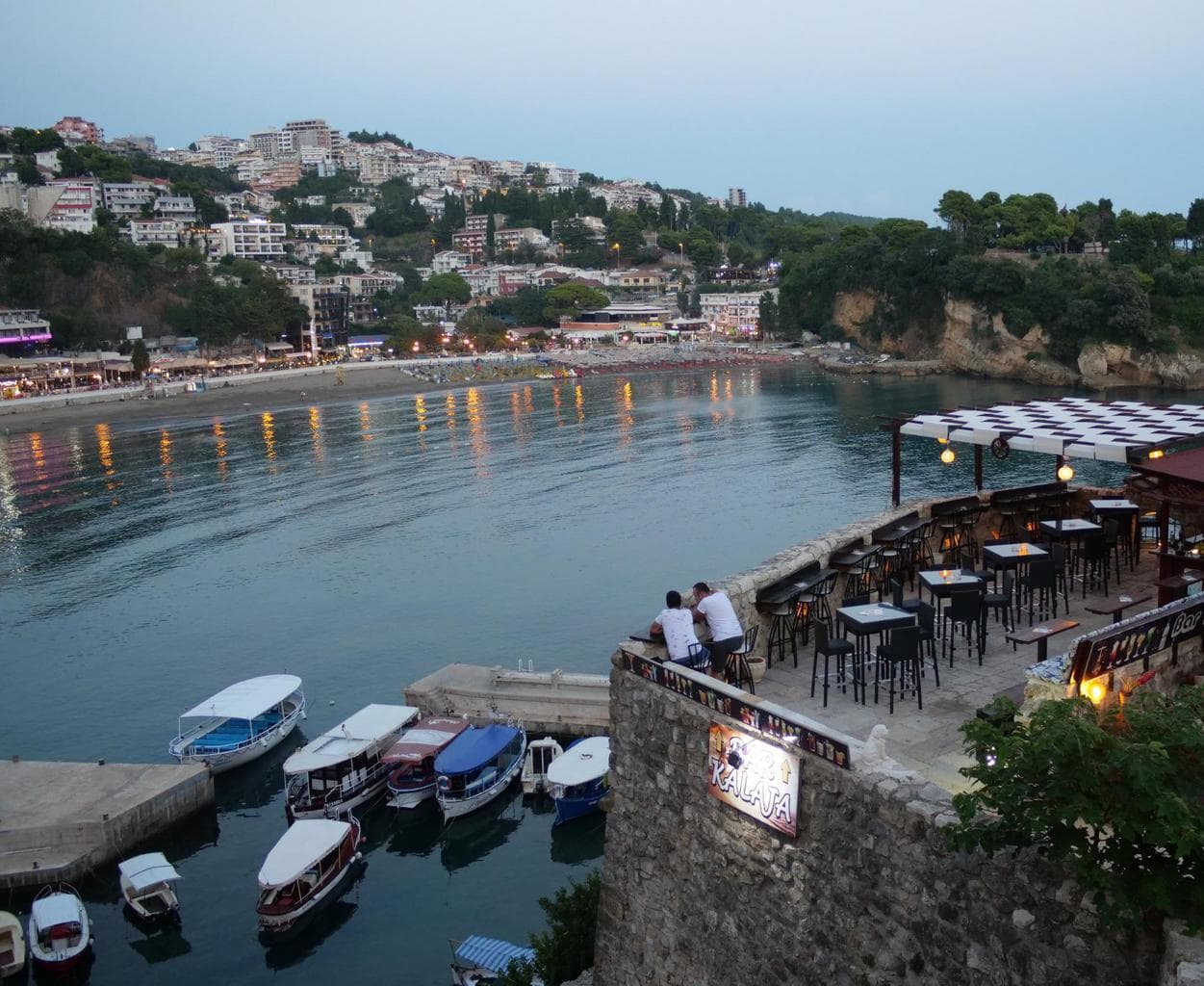 Beach in Ulcinj