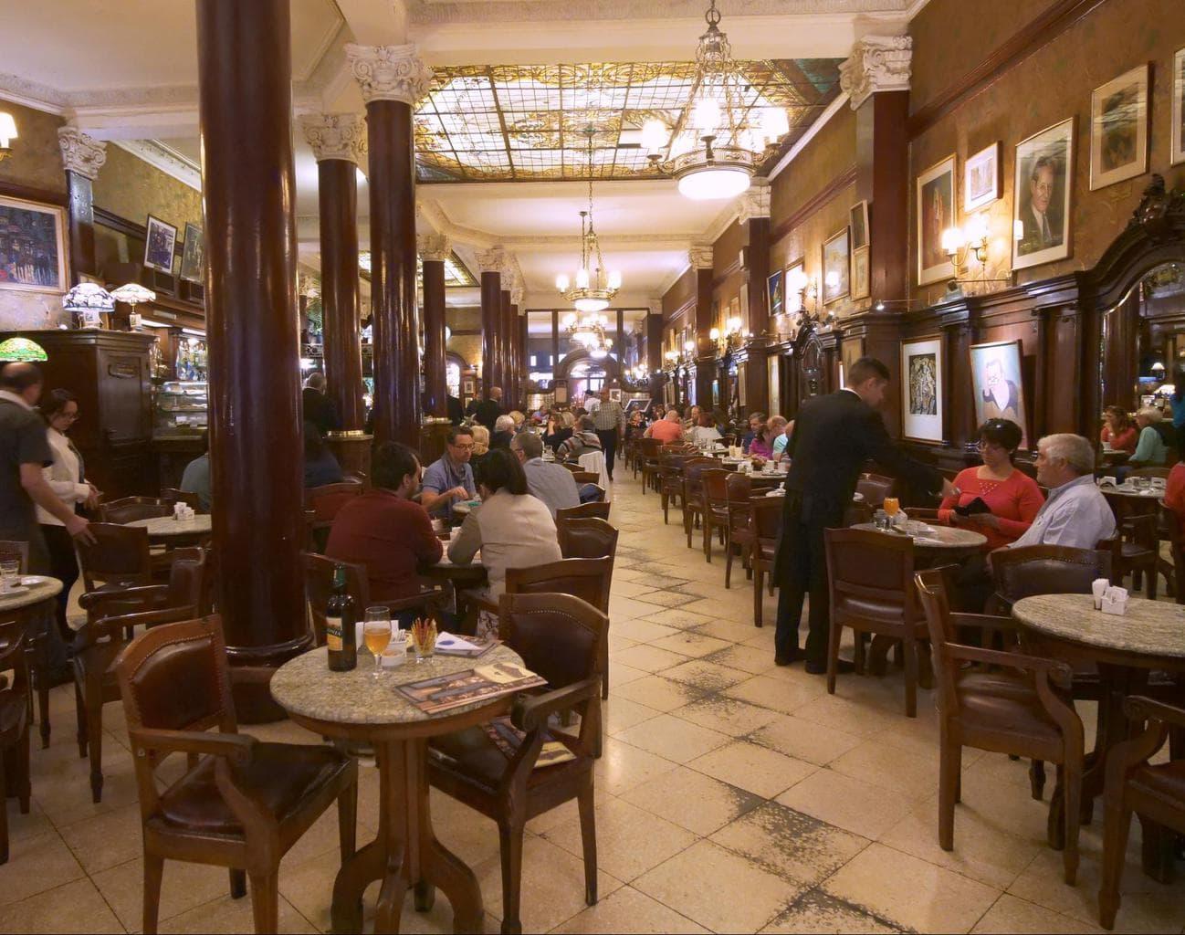 Cafe Tortoni interior