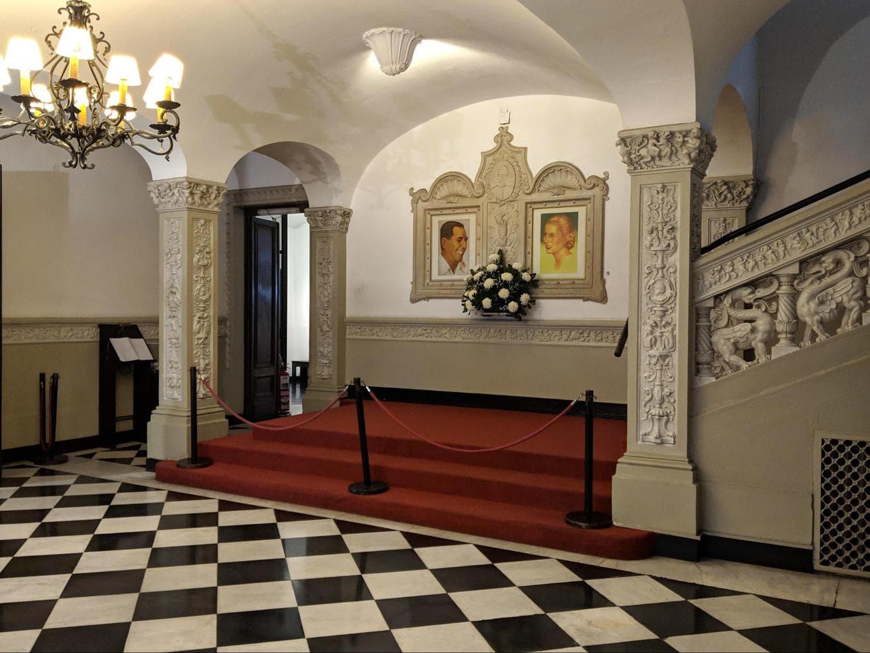 Museo Evita interior