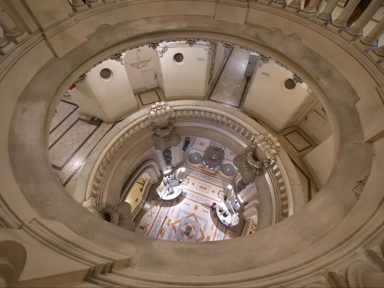 Palacio Barolo interior