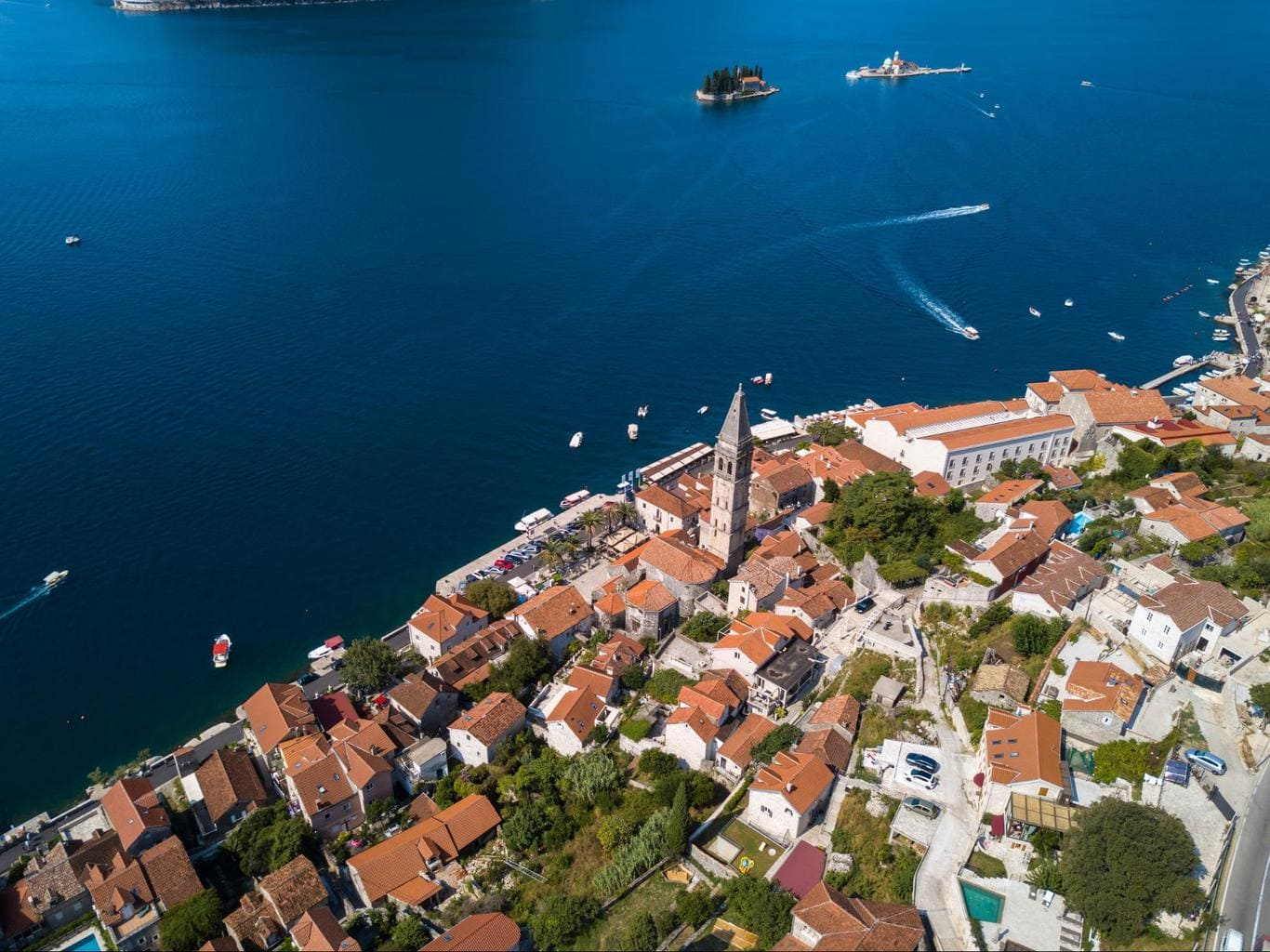 Perast views