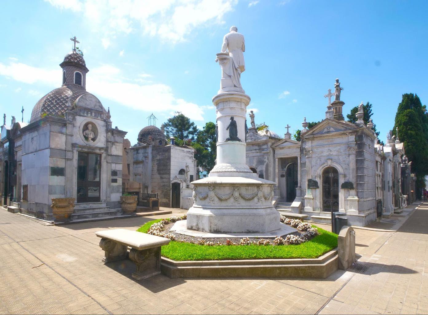 Recoleta Cemetery Garden