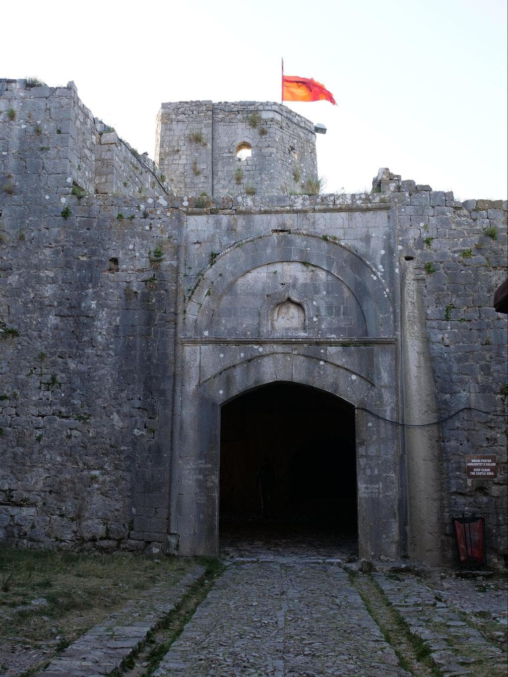 Rozafa Castle entrance