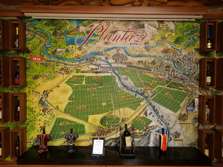 Plantaza Monastery map
