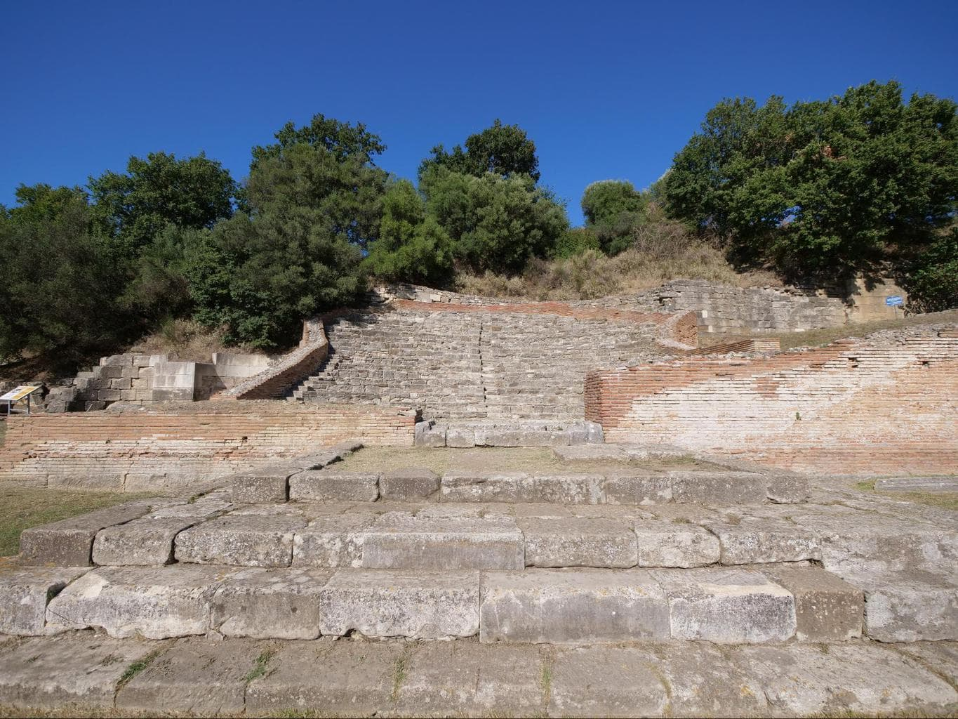 The odeon in Apollonia