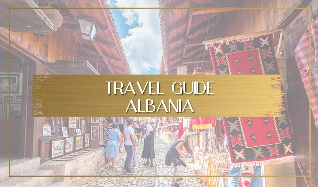 Travel in Albania main