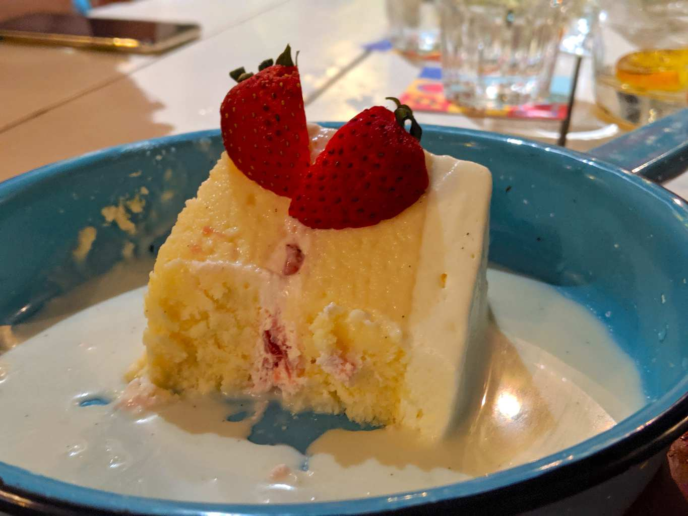 """Tres Leches cake"""