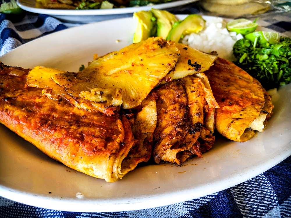 Authentic Mexican foods - tacos al pastor
