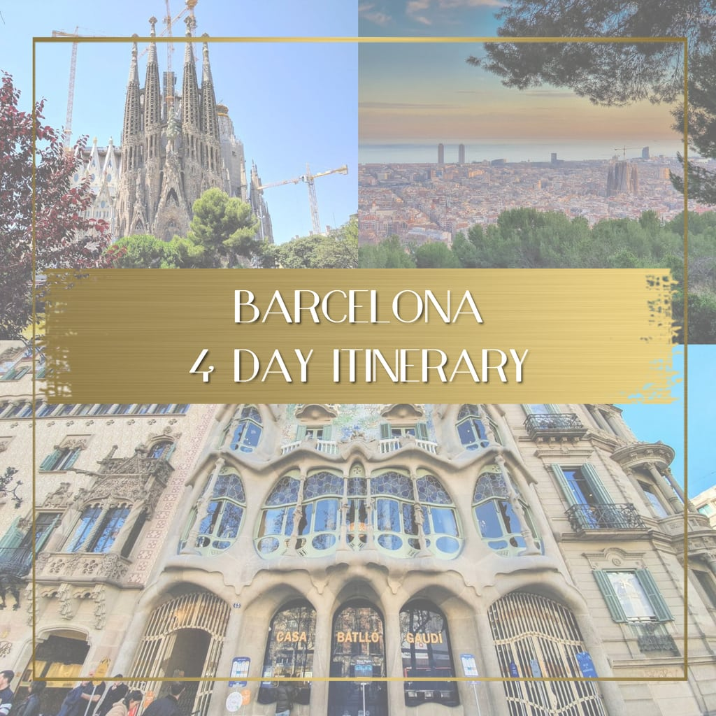 Barcelona Itinerary feature