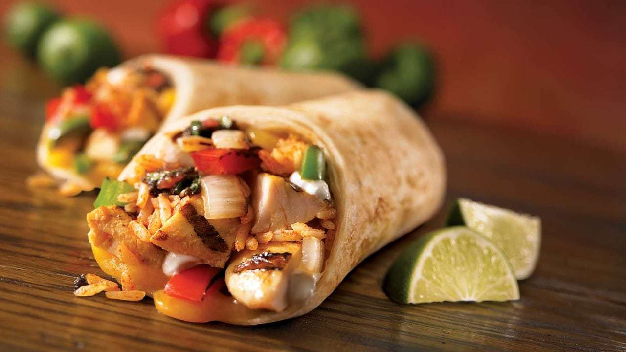 Burritos are Tex-Mex