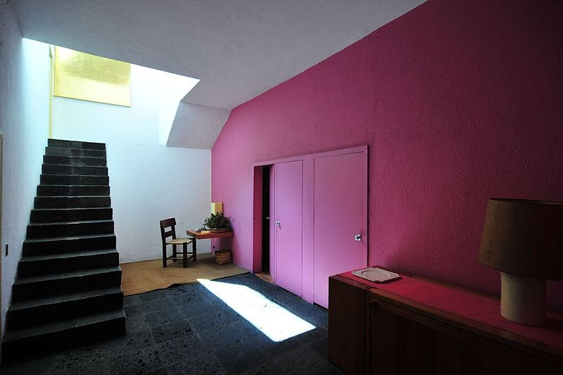 Casa Estudio Luis Barragan. Wikipedia 準建築人手札網站 Forgemind ArchiMedia (CC BY 2.0)