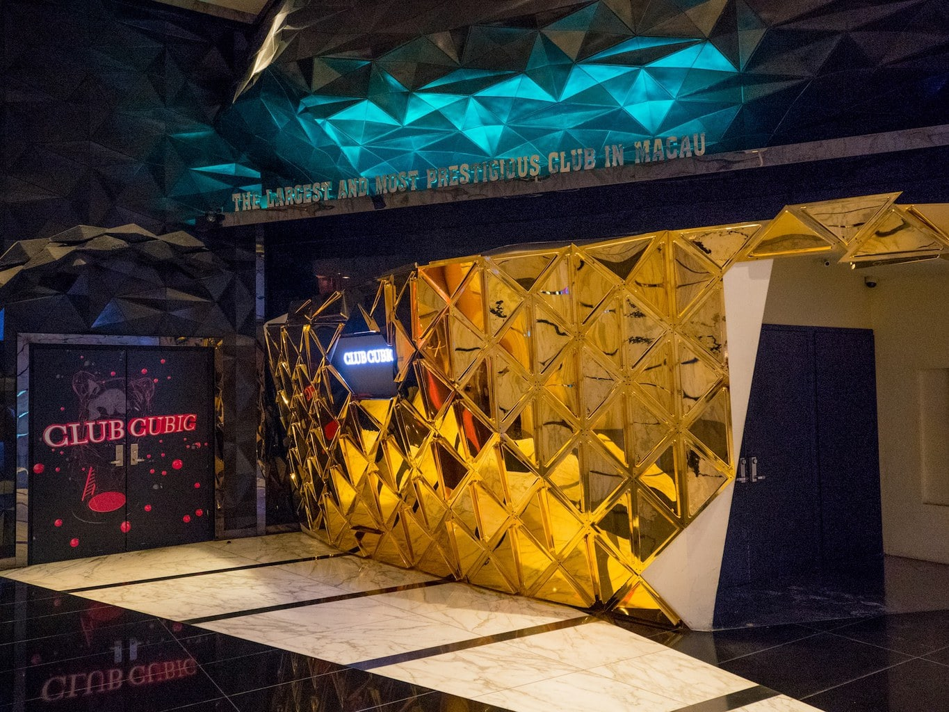 Looking for a party on your day trip to Macau - try CUBIC Club