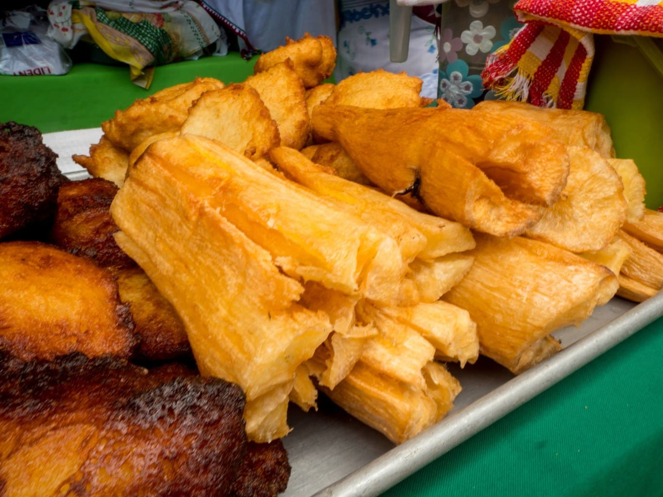 """Fried yuca"""