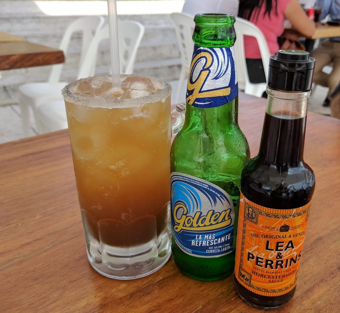 """Michelada from El Salvador'"