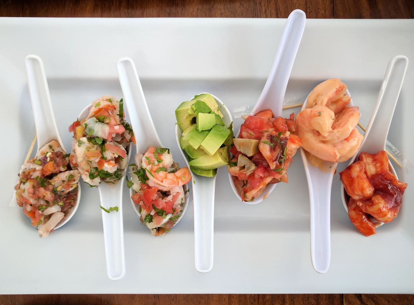 """Ceviche selection"""