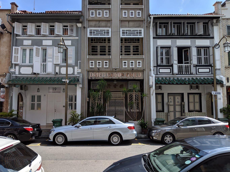 Club Street Shophouse architecture
