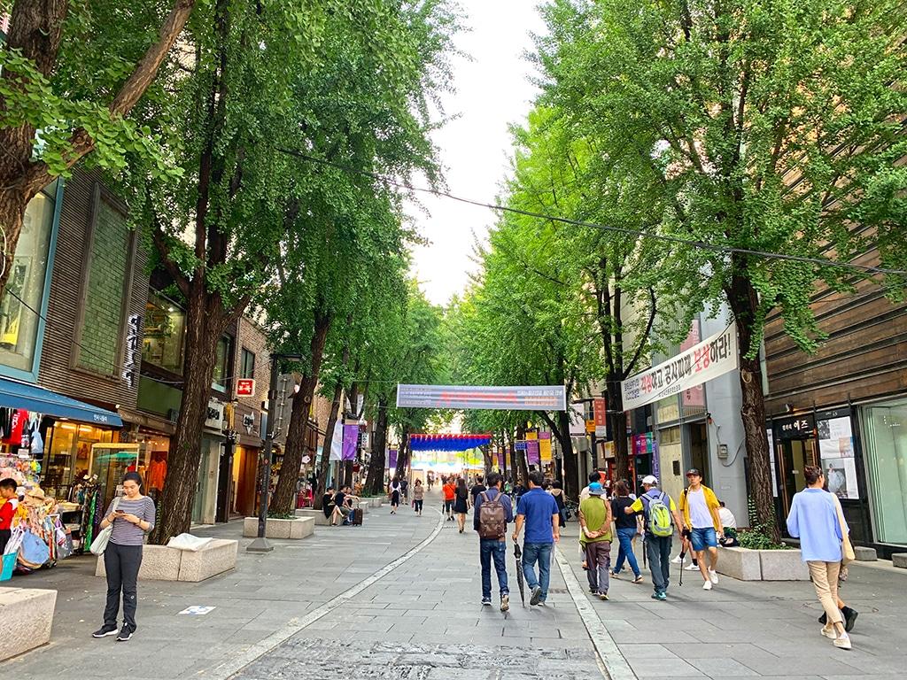 Insadong Walking Street