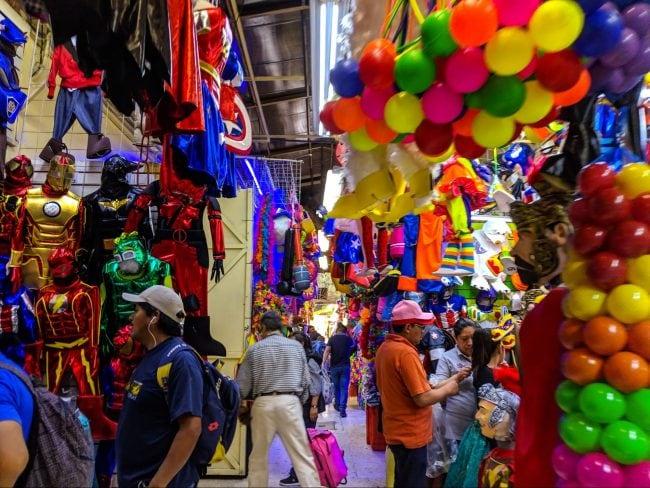 Inside Mercado de Sonora in Mexico City 02