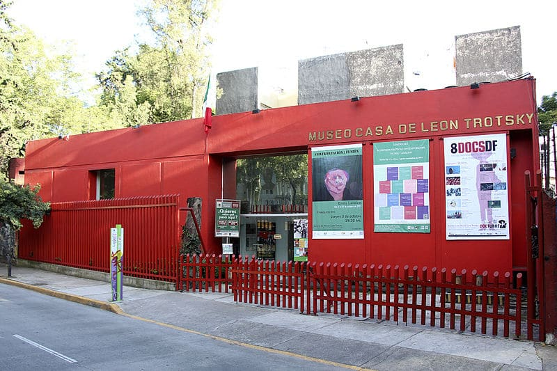 Leon Trotsky Museum. Wikipedia Tonatiuh101 (CC BY-SA 3.0)