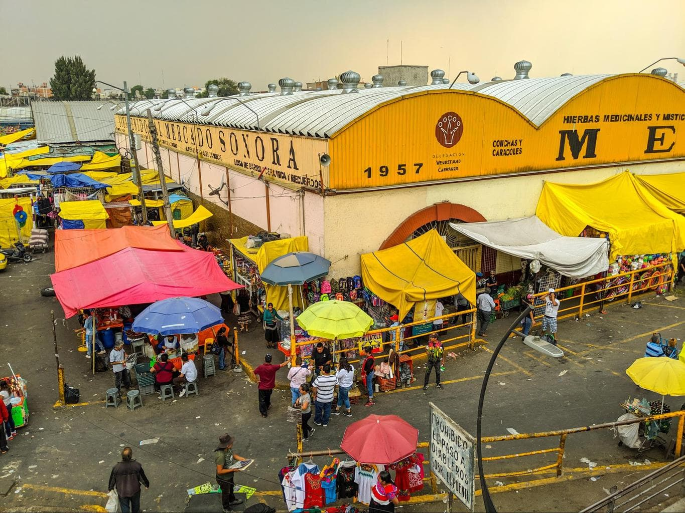 Mercado de Sonora in Mexico City