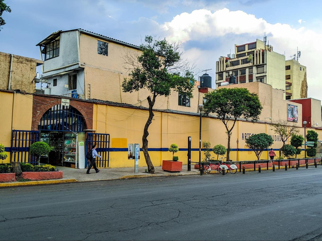Mercado de la Ciudadela in Mexico City