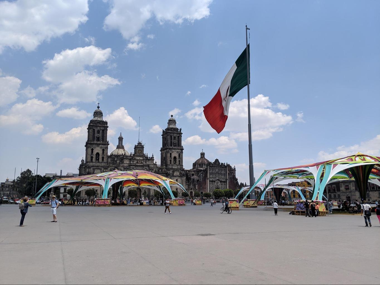 Mexico City's El Zocalo