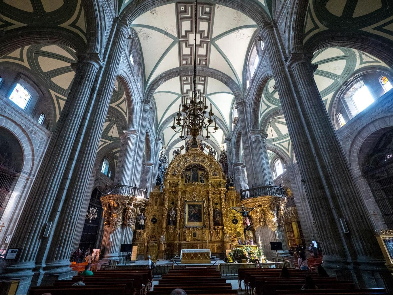 Mexico City Cathedral Interior