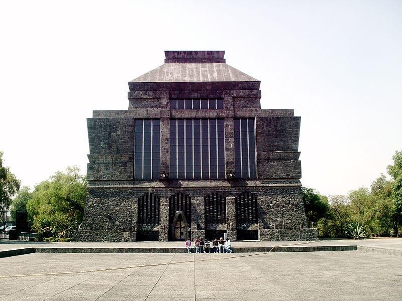 Museo Anahuacalli. Wikipedia Juan Scott (CC0)