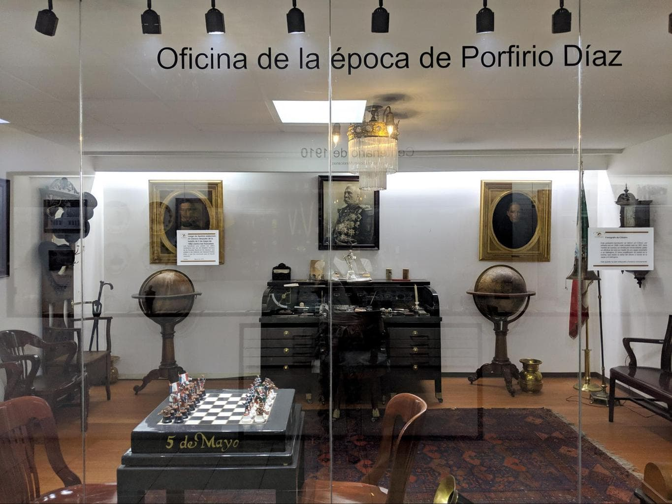 Office from the time of Porfirio Diaz in Torre Latinoamericana
