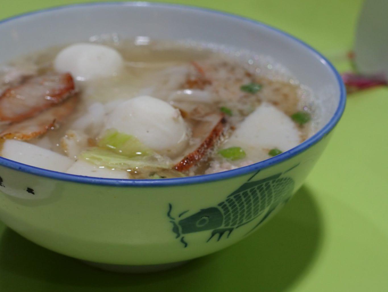 """""""Fish ball noodle soup"""""""
