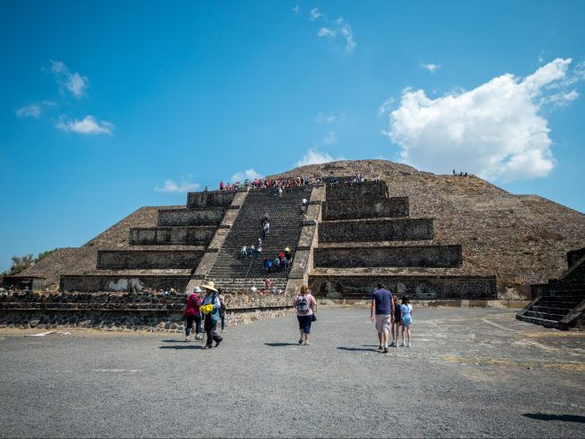 Teotihuacan's Pyramid of the Moon 01
