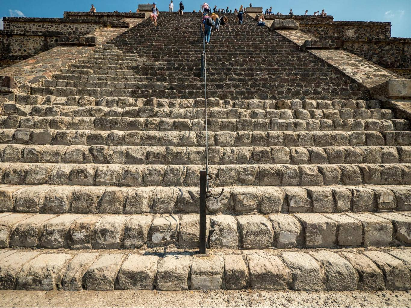 Teotihuacan's Pyramid of the Moon 02