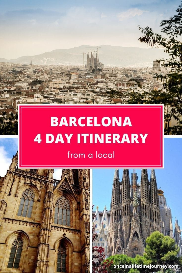 The Best Barcelona Itinerary from a local