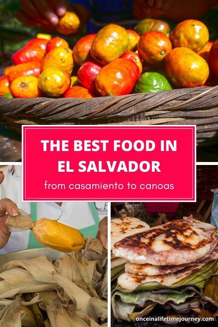 The best food in El Salvador