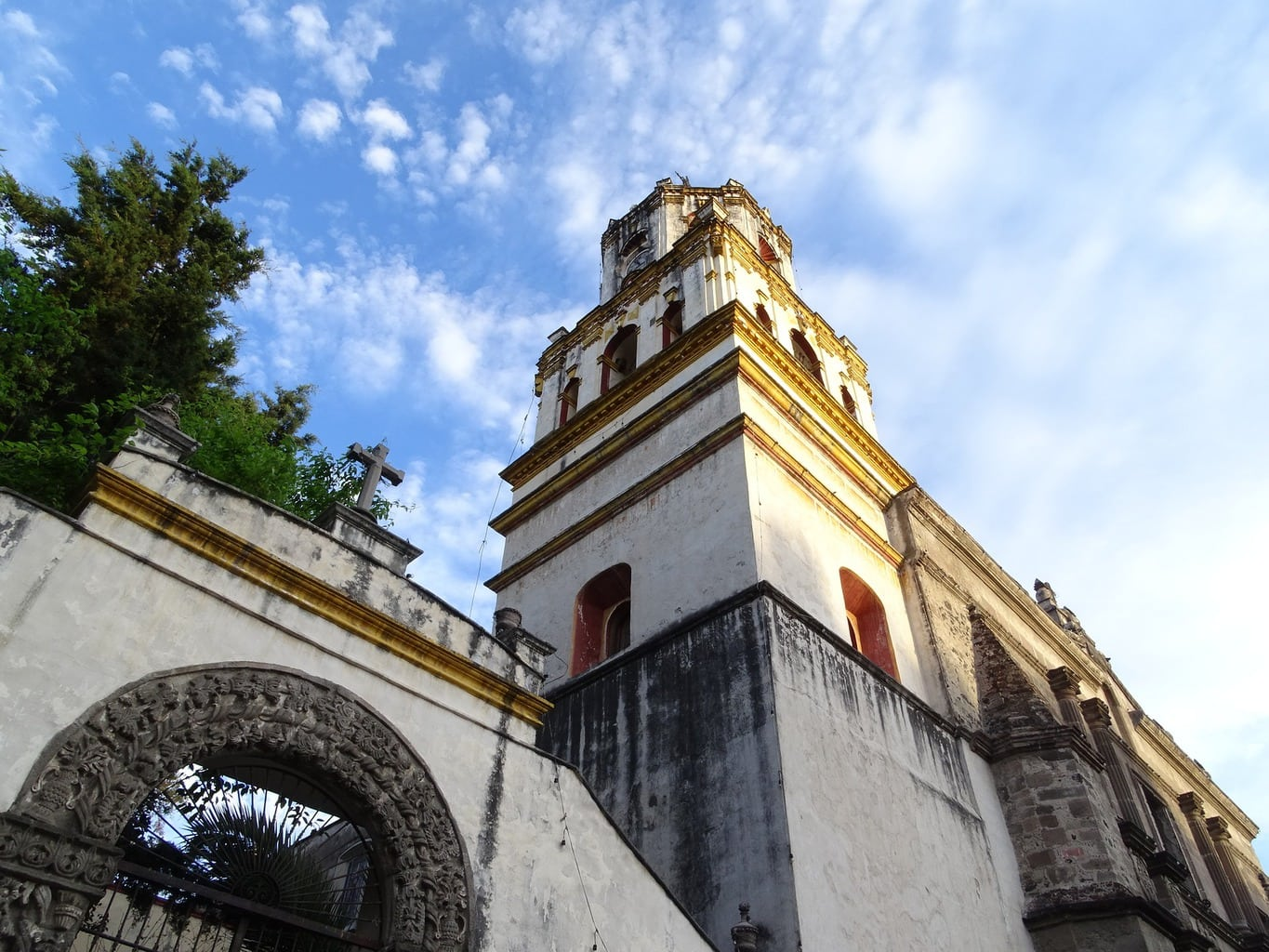 The church of San Juan Bautista in Coyoacan