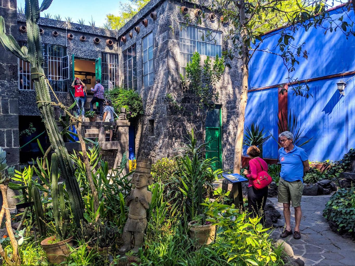 The gardens of La Casa Azul
